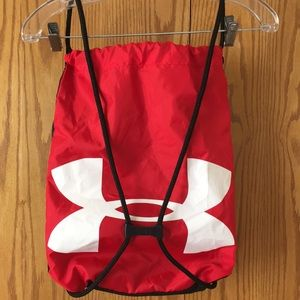 Under Armour sackpack.